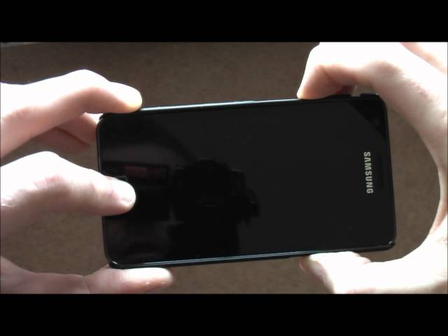 How to: Samsung Galaxy S2 recovery mode