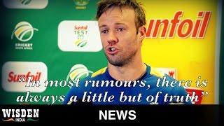 AB doesn't deny rumours