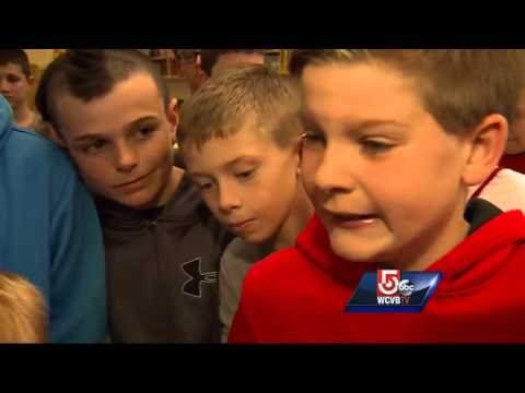 around - Some young boys from Bridgewater show they are truly wise beyond their years when they rally around a boy who was being teased.