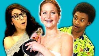 Video Teens React to Jennifer Lawrence MP3, 3GP, MP4, WEBM, AVI, FLV Maret 2018