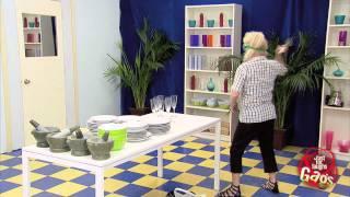 Breaking Dishes On Fake Mirror Prank