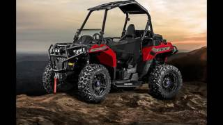 2. Polaris Ranger Ace 500 Indy Red