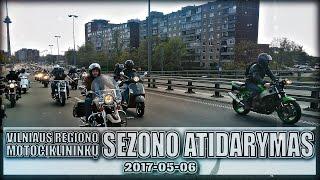Vilniaus regiono motociklininkų sezono atidarymas 2017-05-06.