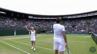 Highlights Day 12: Zimonjic&Stosur into mixed final - Wimbledon 2014