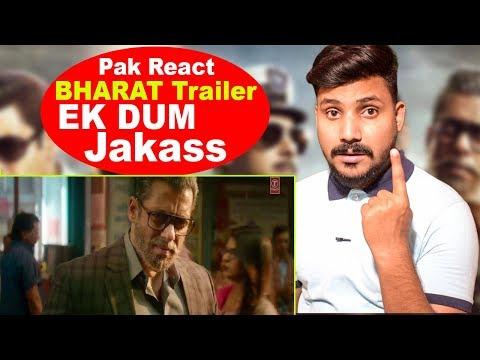 Pakistani Reaction BHARAT Official Trailer Salman Khan Katrina Kaif Bollywood Upcoming Movies