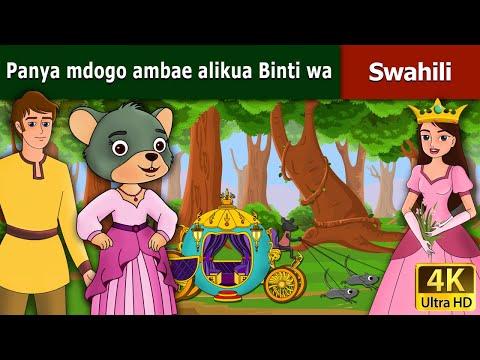 Panya mdogo ambae alikua Binti wa Mfalme   Hadithi za Kiswahili   Swahili Fairy Tales