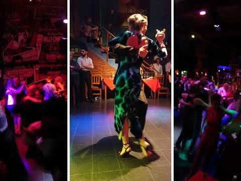 Sofía Seminsksya, Norair Arakelyan, Practica tango A La Parrilla, Buenos Aires