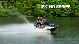 7. 2015 Yamaha FX HO Series WaveRunners