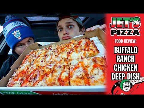 Jet's Buffalo Ranch Chicken Pizza Food Review | Season 5, Episode 15