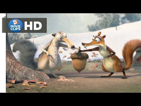 Ice Age 3 Hindi (01/18) Squirrel Comedy & Starting Scene MovieClips