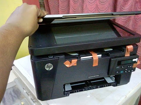 HP LaserJet M126nw (Wifi MFP) Printer Unboxing, Hands on & Review - YouTube