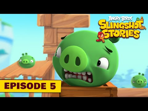 Angry Birds Slingshot Stories Ep. 5 | TNT? Not for me!