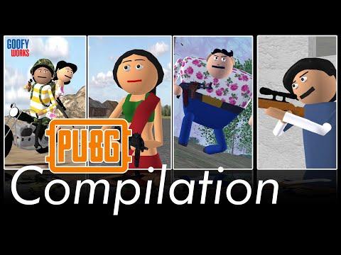 PUBG - Comedy Special Compilation | Goofy works | Pubg Comedy | Comedy toons