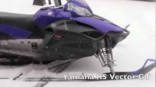 6. Yamaha RS Vector GT Snowmobile