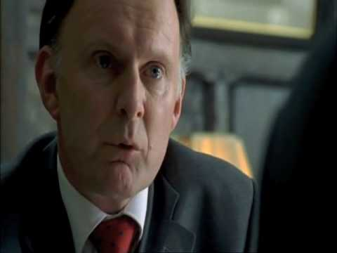 Robert Glenister as the Home Secretary in Spooks