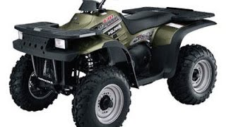 2. Four-wheeling on a Polaris Magnum 330