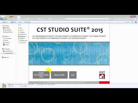 Installing CST studio 2015