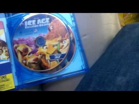 Ice Age: Collision Course 2016 Blu-ray 3D Unboxing