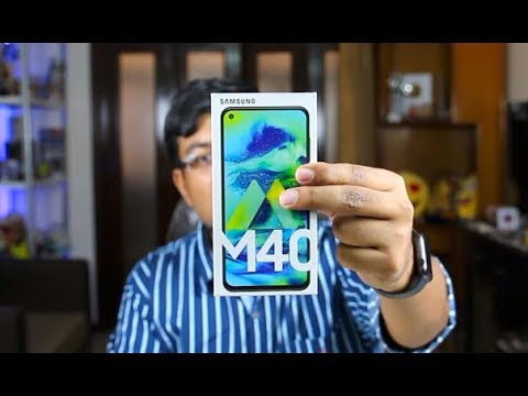 Samsung Galaxy M40 Unboxing, Review, Camera, Price, India | Hindi