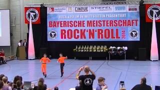 Madita Pilgram & Niklas Pilgram - Bayerische Meisterschaft 2014