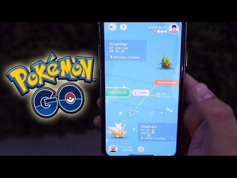 ¡MI PRIMER INTERCAMBIO SHINY, ABRIENDO REGALOS y HACIENDO AMISTAD en Pokémon GO! [Keibron]