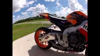 7. 2013 cbr1000rr Repsol Taylormade exhaust.