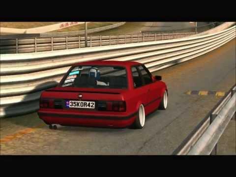 LFS BMW E30 3-25i Rev Limittir  [HD] (LFS BMW E30 3-25i Kesici Show)