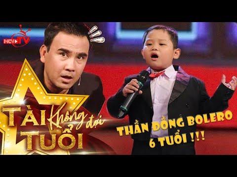 Thần đồng Bolero 6 tuổi Quốc Huy hát Tình Cha khiến Quyền Linh - Lê Lộc - Quang Bảo 'nổi da gà'