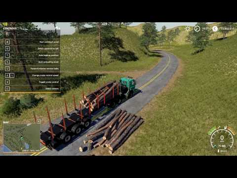 Fliegl Timber Runner With Autoload Wood v1.0