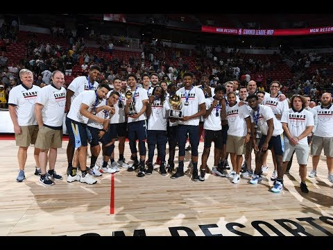 Video: Memphis Grizzlies Full MGM Resorts NBA Summer League Championship Trophy Ceremony