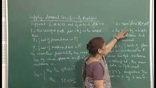 Mod-01 Lec-32 Min-cost-flow Sensitivity Analysis Shortest Path Problem Sensitivity Analysis.