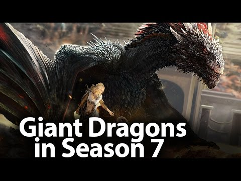 Giant Dragons in Season 7  The hottest episodes of 7th Season  Game of Thrones