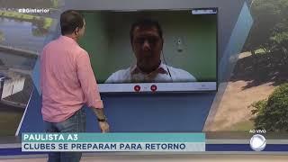 Presidente do Norusca fala sobre reunião entre clubes da A3 e Federação Paulista de Futebol