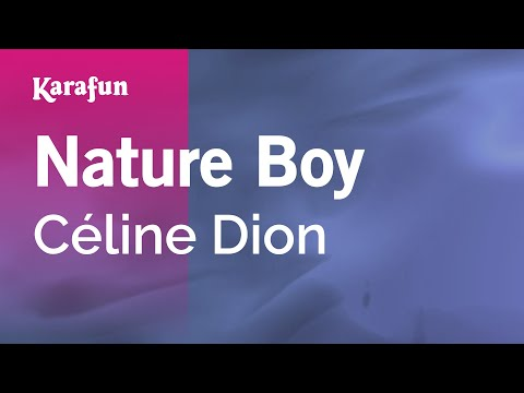 Karaoke Nature Boy - Céline Dion *