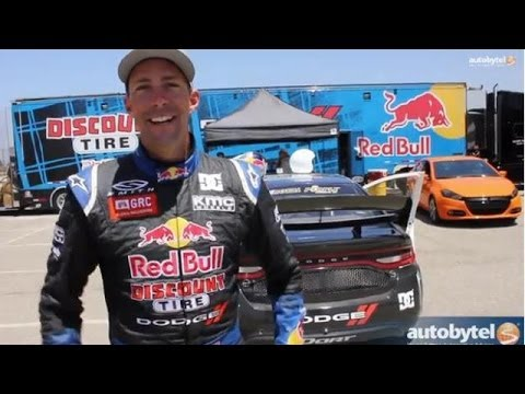 Testing Travis Pastrana's Global RallyCross Dodge Dart