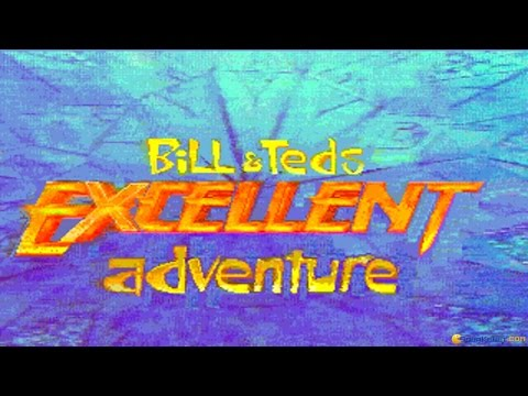 Bill and Teds Excellent Adventure gameplay (PC Game, 1990)