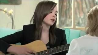 """Ellen Page -acoustic [Jun0] """"Anyone Else But You"""""""
