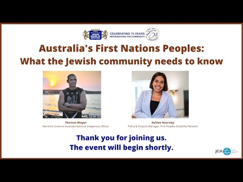 Australia's First Nations Peoples: What the Jewish community needs to know