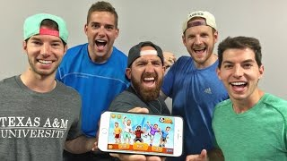Video iPhone Game Battle | Dude Perfect 2 MP3, 3GP, MP4, WEBM, AVI, FLV Desember 2017