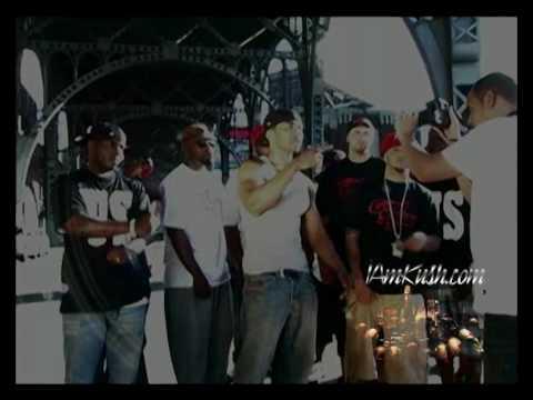 Nu Jerzey Devil Ft. Mysonne & K-Miz - Who Let The Goonz Loose (Behind The Scenes) (видео)