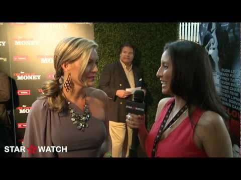 Leilani Sarelle red carpet interview at