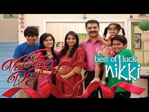 Valentine Day Special | Best of Luck Nikki Valentine's Day  | Full of Love