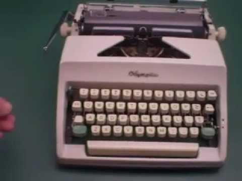 typwriter manual