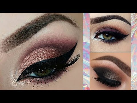 Eye Makeup | How To Apply Eye Shadow + EyeLiner + Mascara Step By Step For Beginners | Makeup Tips