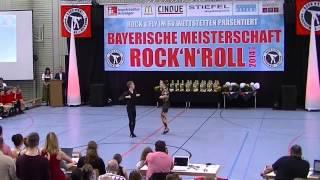 Melanie Hecht & Philip Preidl - Bayerische Meisterschaft 2014