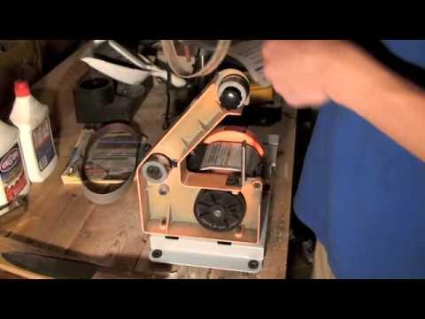 Convex Sharpening on Belt Sander