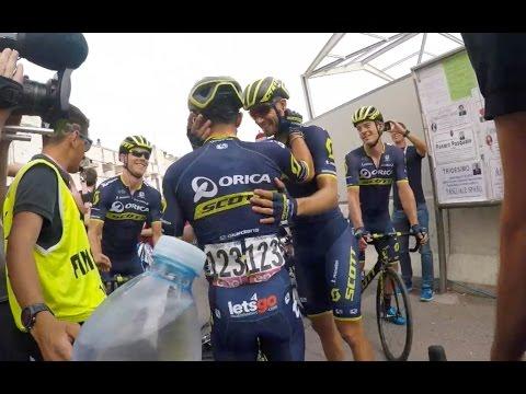 2017 Giro d'Italia - Stage  7 Post Race