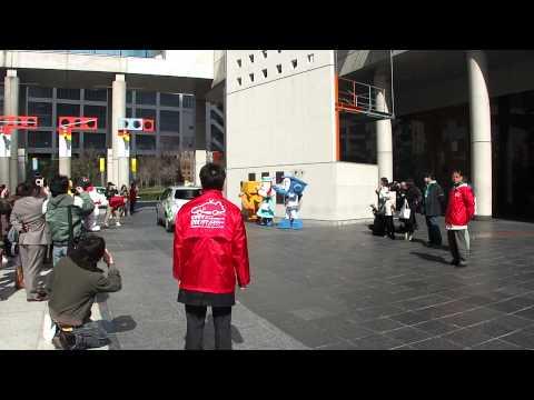 「ゆるキャラⓇ大集合 in 新梅田シティ」 大阪府EVタクシ …