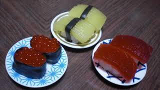 popin' cookin' 3 - Sushi shaped Candy Kit (ASMR)