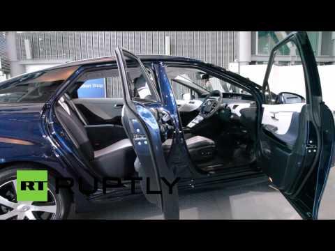 Тойота запустила производство авто на водороде